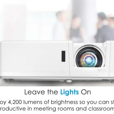 Optoma Short Throw Full HD Professional Laser Projector