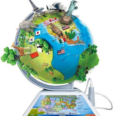 Oregon Scientific Smart Globe Adventure AR Learning Product