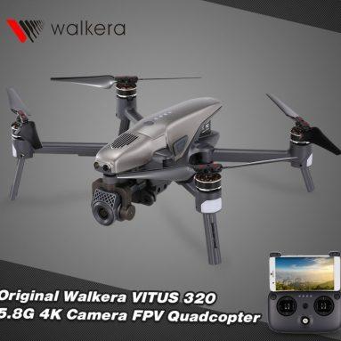 Original Walkera VITUS 320 5.8G FPV Foldable Quadcopter Drone