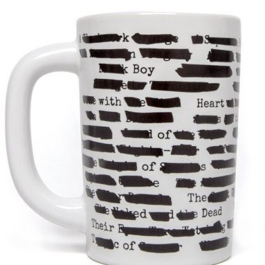 Out of Print Banned Books Mug