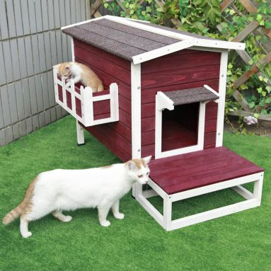 Outdoor Cat Shelter/House