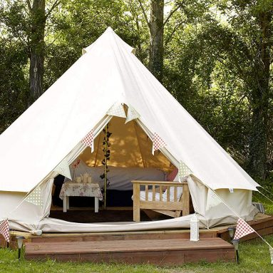 Outdoor Waterproof Luxury Glamping Bell Tents