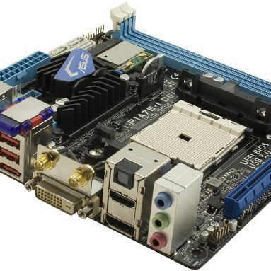 Motherboard with remote control
