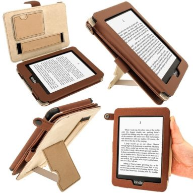 'Bi-View' Leather Case Cover for Amazon Kindle PaperWhite 3G