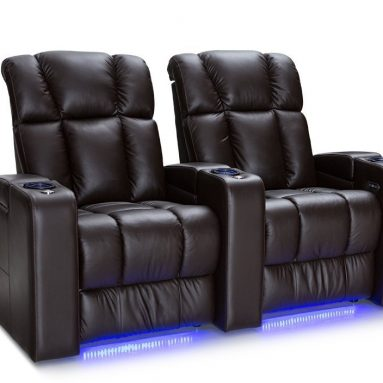 Palliser Collingwood Leather Home Theater Seating Power Recline