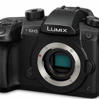 Panasonic Lumix 4K Mirrorless Ilc Camera Body