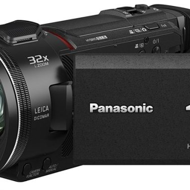 Panasonic 4K UHD Camcorder with Twin & Multi-Cam Capture