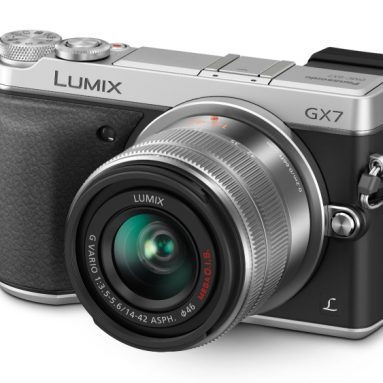 Panasonic LUMIX GX7 16.0 MP DSLM Camera