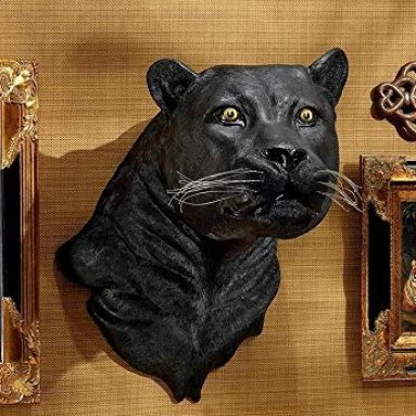 Panther Wall Sculpture