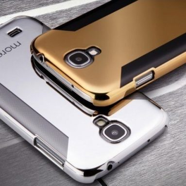 Para Metallic for Samsung Galaxy S4 (Dark Gold)
