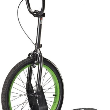 Patented Rear-Steering Scooter