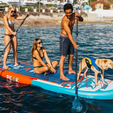 Peak 12′ Titan Royal Blue Large Multi Person Inflatable Stand Up Paddle Board