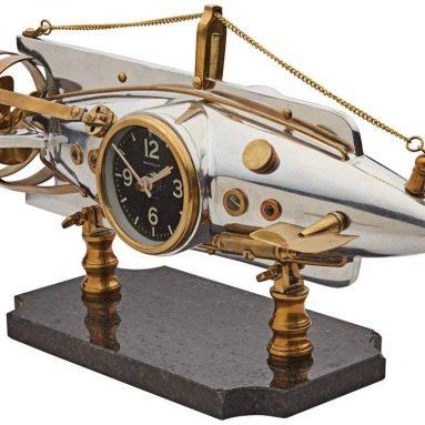 Pendulux Nautilus Table Clock