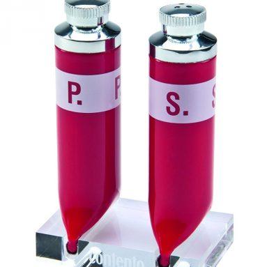 Pepper & Salt Shaker Red