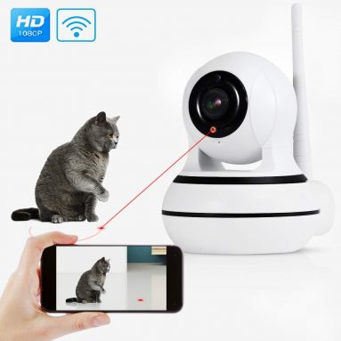 Pet Camera with Interactive Laser Toy