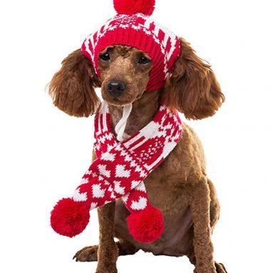 Pet Costume Accessories Knit Christmas
