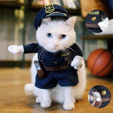 Pet Policeman Costume