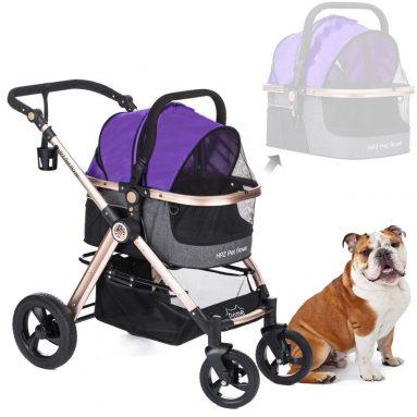 Pet Rover Prime 3-in-1 Luxury Dog/Cat/Pet Stroller