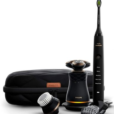 Philips Norelco Electric Shaver and Sonicare Rechargeable Toothbrush