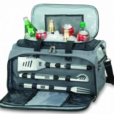 Picnic Time Buccaneer Tailgating Cooler with Grill