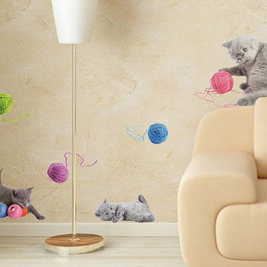 Playful Cats Wall Decals