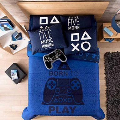 Playstation Teens-Kids Boys Reversible Comforter Set