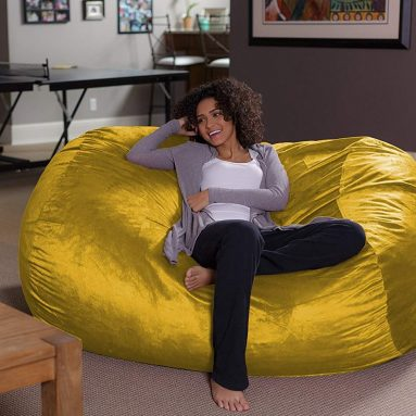 Plush Bean Bag Sofas