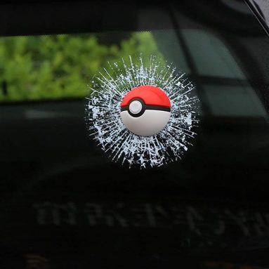 Pocket Monsters Car Window Sticker 3D Car