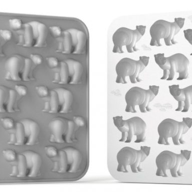 Polar Bear Flexible Silicone Chocolate Jelly and Candy Mold