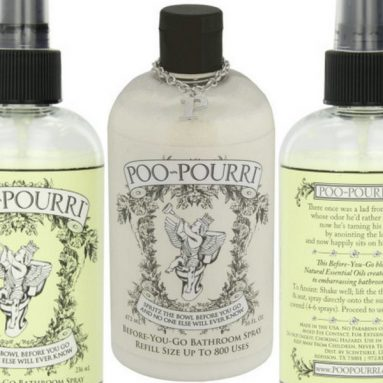 Poo-Pourri Original Before-You-Go Bathroom