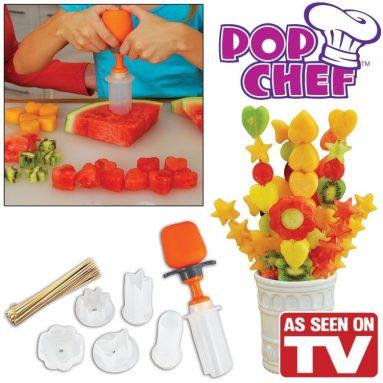 Pop Chef Food Shapes Kit