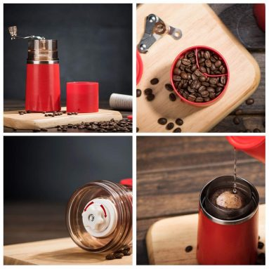 Portable Manual Coffee Grinder Set