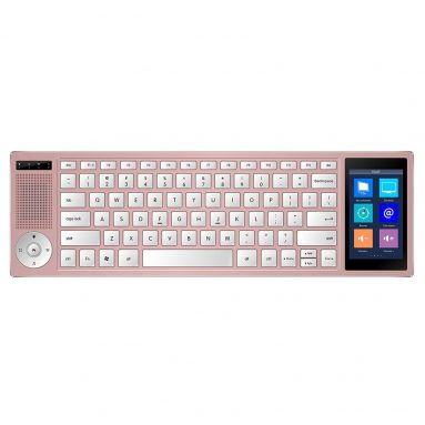 Portable Slim Keyboard with Smart Touchscreen
