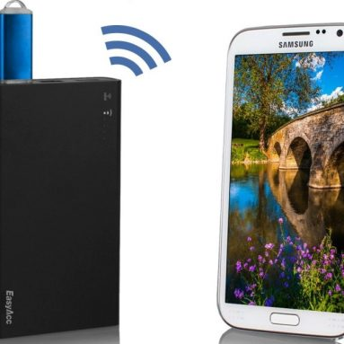 Portable Wifi Wireless SD Card Reader & USB External HDD / SDD / USB Flash Disk Reader