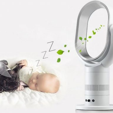 Power Bladeless Fan With Remote Controller