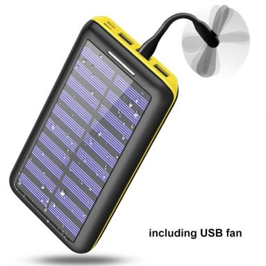 Power bank Portable charger Solar Charger -24000mAh External Battery