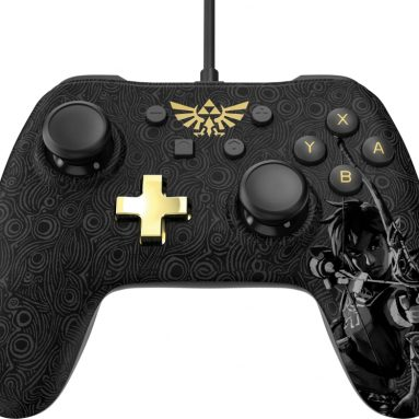 PowerA Nintendo Switch Wired Controller Plus – Zelda: Breath of the Wild – Nintendo Switch