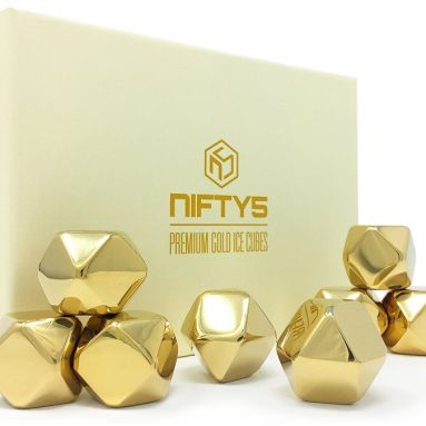Premium Gold Ice Cubes