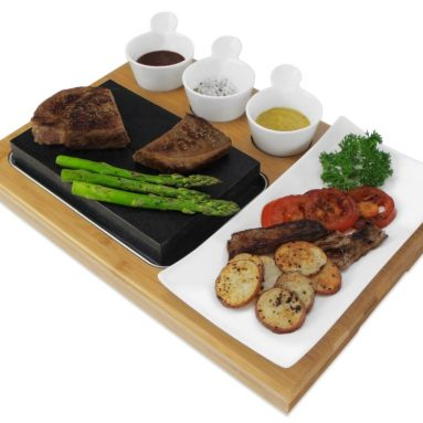 Premium Lava Hot Stone Cooking Platter