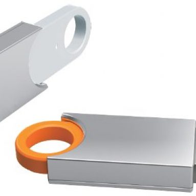 Premium USB 3.0 Orange/Silver USB Flash Memory Drive