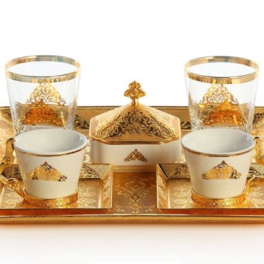Premium plated Coffee Set