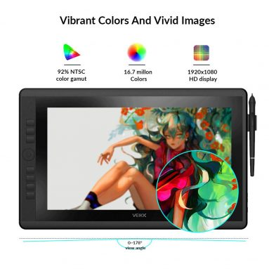 Pro 15.6 Inch Pen Display Graphics Monitor IPS HD Screen Drawing Monitor
