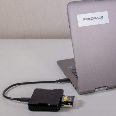 ProGrade Digital USB 3.1 Gen 2 Dual-Slot Card Reader for CFast and SD
