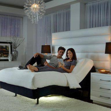 Prodigy 2.0 King Split Leggett & Platt Adjustable Bed Base + FREE 10″ Cool Breeze Gel Memory Foam Mattress