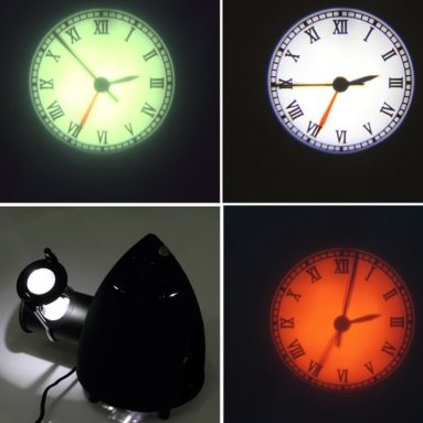 Projection Clock Rome Numeral Style Big Display Clock