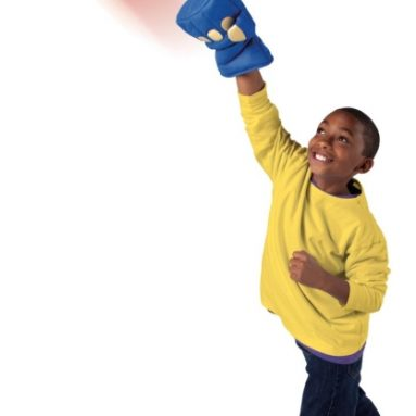 Punch Paddles Game with Soft Fist Gloves