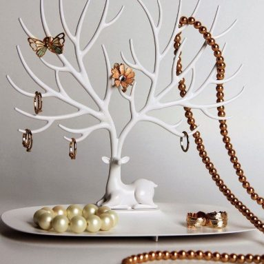 Qualy Deer Jewellery Tree Stand