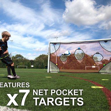 QuickPlay PRO Soccer Goal Target Nets 7 Scoring Zones