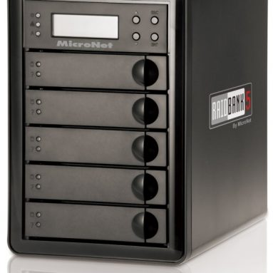 RAIDBank5 20TB 5-Bay USB 3.0 RAID