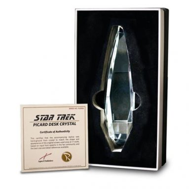 Star Trek: The Next Generation Picard Desk Crystal Prop Replica